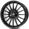 OZ Superturismo GT 8x17 ET35 5x100 d68 Matt Black Red Lettering