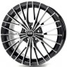 OZ Ego 8.5x19 ET45 5x108 d75 Matt Black Diamond Cut