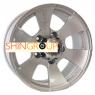 Neo 652 7.5x16 ET0 5x139.7 d108 Silver